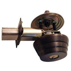 """Door Deadbolt, Square Corner Strike, Single Cylinder, Cylinder x Thumbturn, Keyed Alike in 4, 2-3/8"""" Backset, 1"""" Deadlatch, Oil Rubbed Dark Oxide Bronze"""