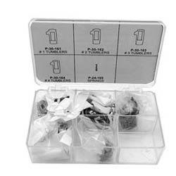 Automotive Keying Kit, Includes P-30-161/164 Series Tumbler, For Toyota X174/TR40, Mitsubishi X176-MIT1, Hyundai X216, X232, GM-Suzuki X185
