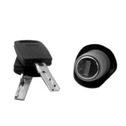 Automotive Luggage Compartment Lock, Station Wagon, For Audi A4, S4 2-Track Key-1997 to 2001 Year Model