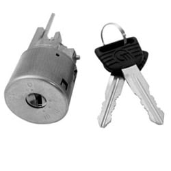 Automotive Ignition Lock Cylinder, Coded, For Honda Accord-1990 to 1991 Year Model