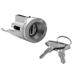 Automotive Ignition Lock Cylinder, Coded, For Toyota Camry X37-1983 to 1986 Year Model