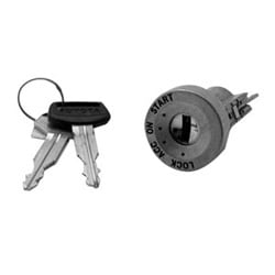 Automotive Ignition Lock Cylinder, Coded, For Toyota Supra-1990 to 1993 Year Model