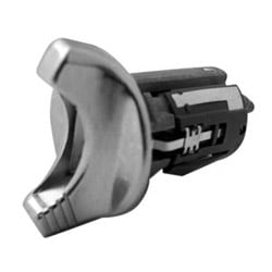 Automotive Ignition Lock, Uncoded Cylinder, Large Ear, Chrome Plated, For Ford Aerostar-1993 to 1995/Bronco-1992 to 1995/Crown Victoria-1990 to 1995 Year Model