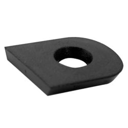 Automotive Lock Face Cap, Non-Lighted, For Ford Taurus (10-Cut Right Side Door)-1986 to 1993 Year Model, Sable/Tempo/Topaz, 5 each per Pack