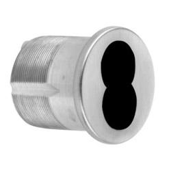 """Logement de cylindre mortaise, Grand Format Core Interchangeable Cam Standard, 6 broches, trèfle, 1-1/4"""" longueur, huile huilé foncé oxydé Bronze Satin"""