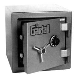 "Burglary and Fire Safe, Combination Lock, Imported, 1 Hour Fire Safe Label, 17-3/4"" Width x 20-1/2"" Depth x 17-3/4"" Height, Gray"