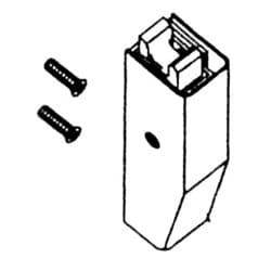 Exit Device Latch Assembly, Top, Duronodic/Dark Bronze, For ED2300V Exit Device