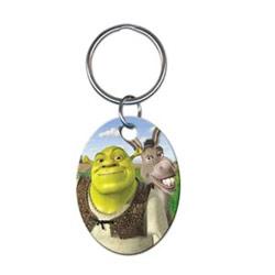 Key Chain, Disney Shrek and Donkey Design