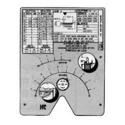Key Machine Code Card, Kwikset Large Pin