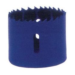 "Hole Saw, Linear Edge, 230 RPM, 1-1/2"" Diameter, 1-1/4"" Pipe Tap, Bi-Metal, Boxed"