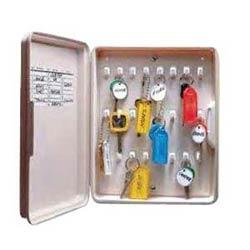Key Organizer Cabinet, Locking, 24 Hooks, Polypropylene, With (2) Key, Mounting Screw, 1 each per Box