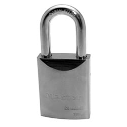 "Padlock, Proseries, Keyed Different, Rekeyable, Interchangeable Core, 2"" Width, 1-1/2"" Shackle Clearance, Solid Steel, Without Cylinder"