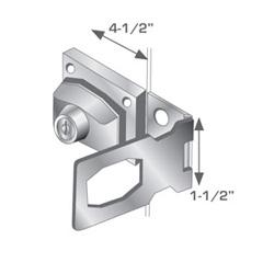 "ELK-110-KD                    HASP LOCK,4-1/2"""