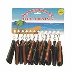 """Snap Key Case, 3-5/8"""" x 2-1/4"""", 6-Hook, 12 each per Card"""