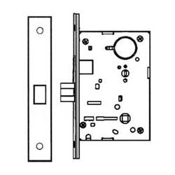 8215 LNL 10 B RH DÉPOURVU, LN ROSE, LEVIER DE L, US108200L, ML PG-5