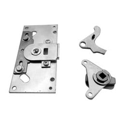Exit Device Backplate Conversion Kit, Panic, Converts EO/DT/NL/TP to K/L, Satin Chrome Plated, For 88 Series Door