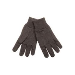 Heavyweight Jersey Gloves, Dark Brown