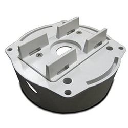 Aluminum back box wth pole mount adaptor for the SNC-CH180/ CH160/ CH280/ CH260