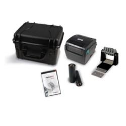 Thermal Transfer Printer, Black, 1/Pkg