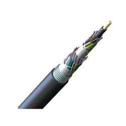 ALTOS Lite(TM) Loose Tube, Gel-Free, Single-Jacket, Single-Armored Cable, 288 fiber, Single-mode (OS2), max. attenuation 0.4 dB/km