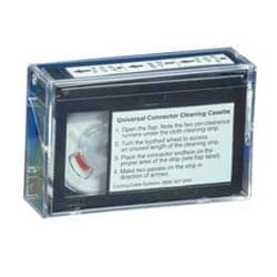 Fiber Optic Cleaning Cassette, Universal, offers more than 500 cleanings