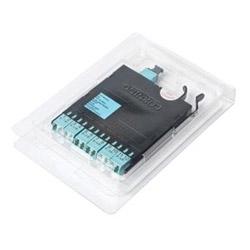 Pretium EDGE Solutions Module, 12 fiber, LC Duplex to MTP Connector, 50 µm multimode (OM4)