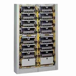 FDC Unit Connector Housing, accepts (12) 7.5-in FDC connector panels (FDC-CP8P) or modules (FDC-CP18) only