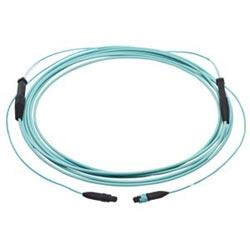 Pretium EDGE Solutions Trunk Cable, 50 µm multimode (OM3), connecteur PSG PSG connecteur, 12 fibre, avec jambes de pouce 33/33, tirant poignée d'un côté, 40 ft