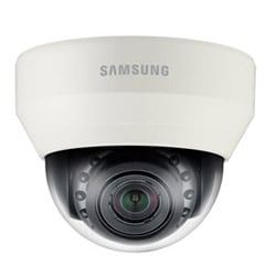 WiseNet III IP IR Dome Camera, 2 MP, Full HD(1080p), Motorized Simple Focus 2.8x (3-8.5 mm), H.264/MJPEG, 120 dB WDR, True D/N, SD/SDHC/SDXC, 12 V DC/PoE