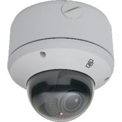 TruVision 1.3MPX WDR IP Open STD, Progressive Scan CMOS Outdoor Vandal Dome, True D/N, 2.7-9MM Motorized AI, IR LED, ONVIF/PSIA, NTSC OUT, PoE/24 V AC, Micro SD Card Slot, Heater