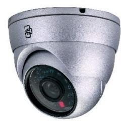 TruVision 550TVL Color Turret Dome, Outdoor, True D/N, 33' IR Range, 3.6mm Fixed, 12 V DC