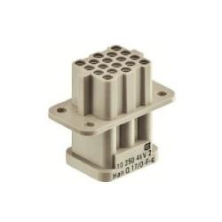 HANQ COMPACT MODULE MALE      CRIMP 17+PE 10A/250V