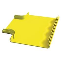 OptiWay 300 Tee Hinged Cover, Yellow