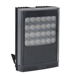 "Infrared LED Illuminator, 1-Panel, 12 to 24 Volt AC/DC, 46 Watt, 24-LED, 940 NM Wavelength, 10 to 120 Degree, 5"" Length x 7"" Width x 2.6"" Depth, Black"