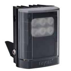 "Infrared LED Illuminator, 1-Panel, VARIO2, 12 to 24 Volt AC/DC, 10 Watt, 6-LED, 940 NM Wavelength, 10 to 120 Degree, 3"" Length x 4"" Width x 2.5"" Depth, Black"