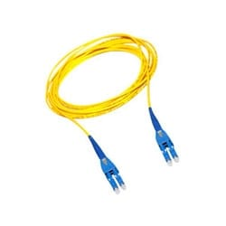 RFP LC Uniboot to RFP LC Uniboot Patch Cord, 2 F, Interconnect Tight-Buffered Cable, LSZHSMF-28 Ultra Single-mode (OS2), Low-Loss, 3 m