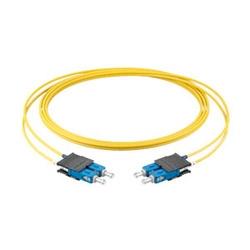 5m LC Duplex UniBoot - SC Duplex SM/OS2 XB Fiber Patch Cord