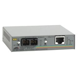 FAST ETHERNET MEDIA CONVERTER UNSHIELDED TWISTED PAIR TO FIBER SC WITH UK STYLE POWER SUPPLY UNIT