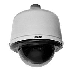 Spectres HD caméra 1080 avec 20 x Zoom optique, pendentif environnement Mont, lumière Backbox gris et bulle fumé. Comprend les composants suivants de Pelco : B52-PG-E, D5220, LDHQPB-0
