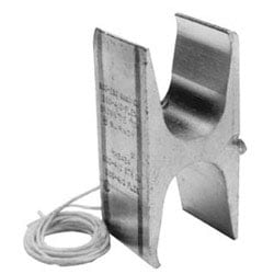 Copper Compression H Tap, 750-500 kcmil (Main), 750-350 kcmil (Tap), Tin Plated
