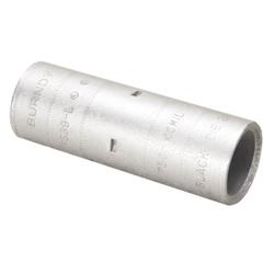 "Copper Compression Splice, 750 kcmil, 3.72"" Splice Length, Short Barrel, Tin Plated"