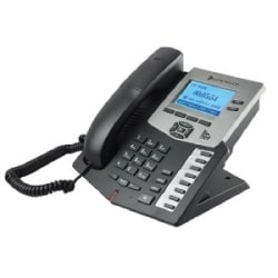 Cortelco Executive IP Phone With 2 lines, Expansion, 128X64 Graphic LCD Display, HD Voice, Mute Button, Speaker Phone, Volume Control and More