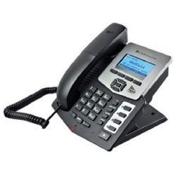 Cortelco Entry Level IP Phone With 4 lines, Expansion, 128X48 Graphic LCD Display, HD Voice, Mute Button, Directory and More
