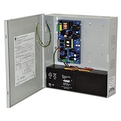 Power Supply Charger, Single Output, 12VDC @ 10A, Aux Output, FAI, LinQ2 Ready, 115VAC, BC300 Enclosure