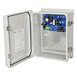 Power Supply/Charger, Outdoor, Single Output 12/24VDC @ 2.5A, 115/220VAC, WP3 Enclosure