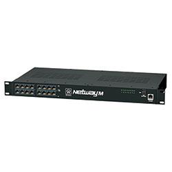 Midspan Injector, 16 Port, 10/100, PoE/PoE+, 150W, 115VAC, Shutdown Trigger, Web Browser