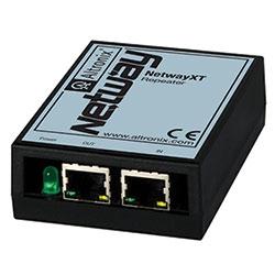 Ethernet Extender, 1 Port, 10/100, Passes PoE, Extends Data additional 100m