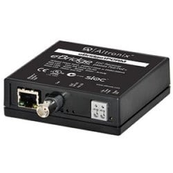 EoC Single Port Receiver, 25Mbps, Passes PoE/PoE+, Requires Compatible Transceivers