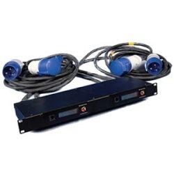 Kit de rack énergie 9 : Kit Standard + 1 x Dual Link Box 20 a monophasé. Commando fiches et prises