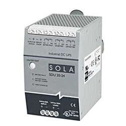 480 VA, 24V/20A DIN Rail DC UPS power module, battery module is required